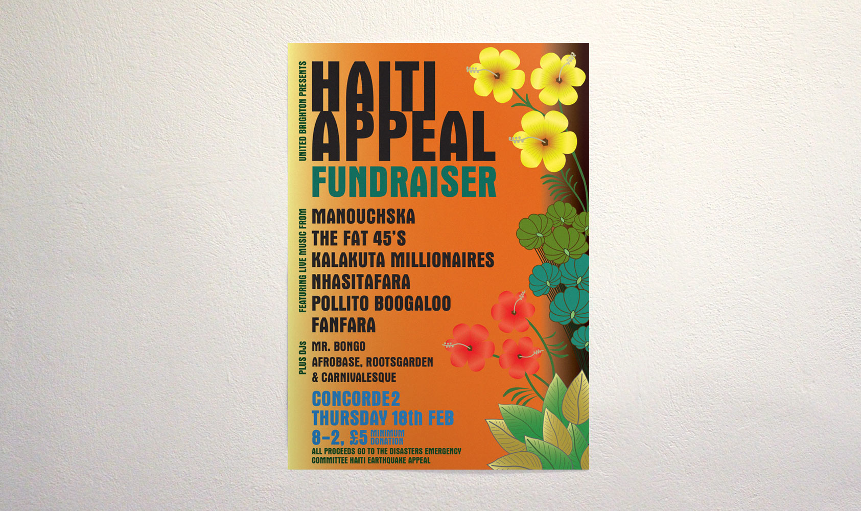 flyer examples for fundraiser